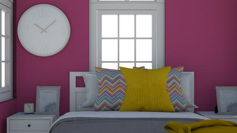 Girls room - Modern - Bedroom  - by designer408340284