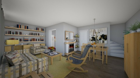 For livingsimply - Country - Living room - by Theadora
