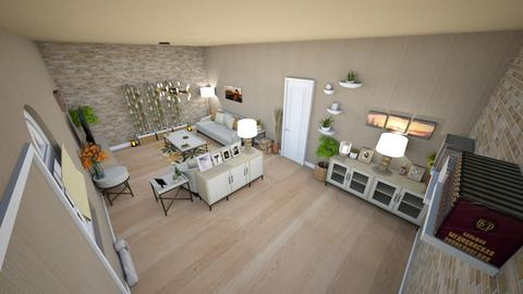 family home 21 - Minimal - Living room  - by Stavroula Chatzina