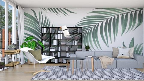 Tropical Wood - Living room  - by lyrikkah