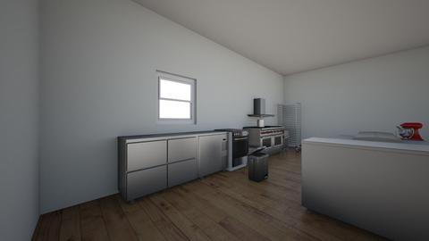 cocina proyecto - Kitchen  - by Ainhoa santiago