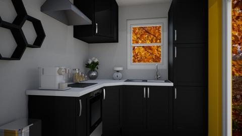 Flat Kitchen - Kitchen  - by KylaTH