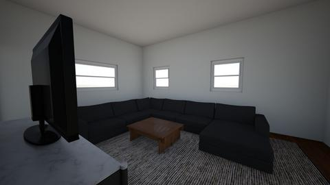 Farouc Katherine Renderin - Living room  - by sappell