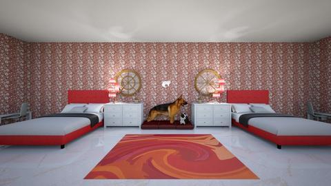 Butter dog - Bedroom  - by smokeymv