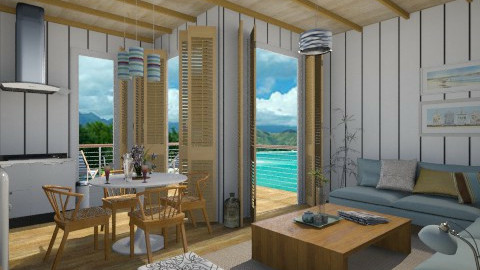 Beach cabin - Classic - by Tuija