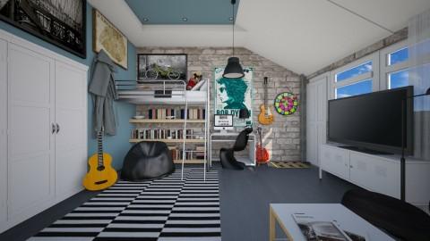 bedroom yes - Modern - by Evangeline_The_Unicorn