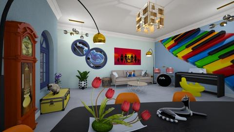 Music tempo - Eclectic - Living room  - by Orionaute