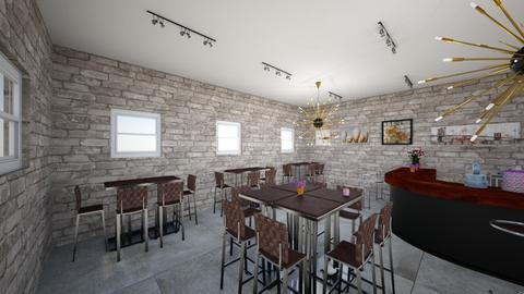 poslasticarnica - Dining room - by Vasa Dzakula