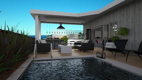 rooftop terrace - by lais baptista