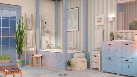 Nautical Bathroom - Bathroom  - by Sally Simpson
