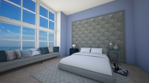 Seahouse Relax - Bedroom  - by thehomewhisperer