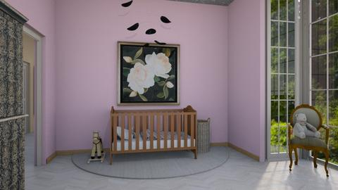 pink - Kids room  - by rosej