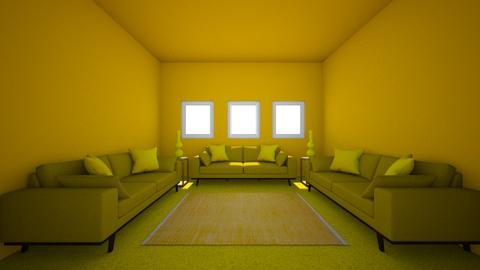 Yellow - Living room  - by leilanim2