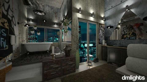 Loft Bathroom 7 - Bathroom  - by DMLights-user-1468788