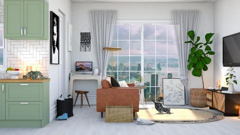 lil abode  - Living room - by TamarK