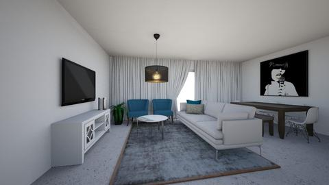 tal harel living room - Living room  - by ayalamoreno