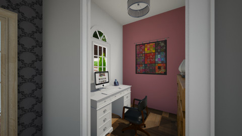 Small office - Rustic - Office  - by sarahbatty