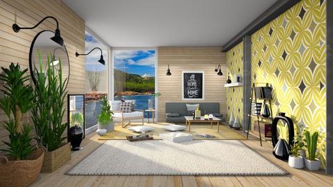 Zoe Rodney - Living room  - by Ferplace
