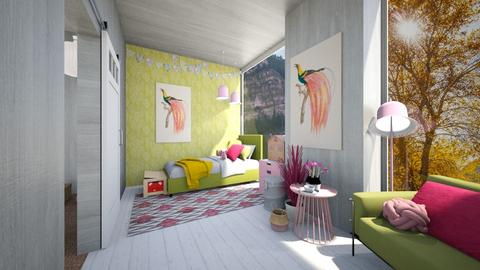 Childs bedroom - Kids room  - by Celia Schrag