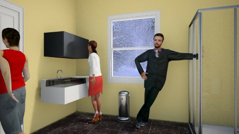 Family Bathroom - Modern - Bathroom  - by Albany May Wake