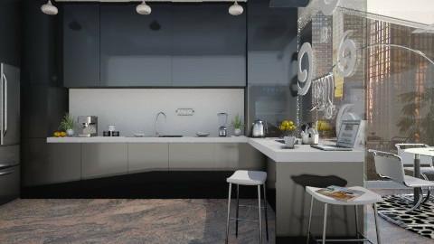 Ines - Modern - Kitchen  - by Violetta V