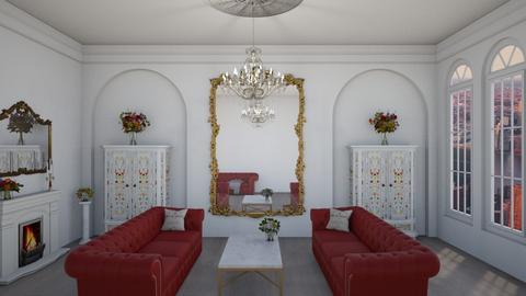 Paris Living Room - Living room  - by KittyKat28