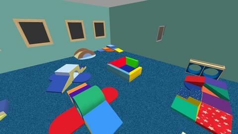 Large motor soft play - Kids room  - by Lovatic24