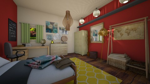 Home - Bedroom  - by Paean
