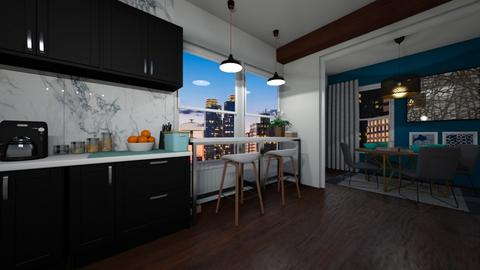 By the window - Kitchen - by Infinity designs