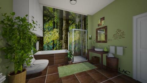 Woodlands - Bathroom  - by Lackew