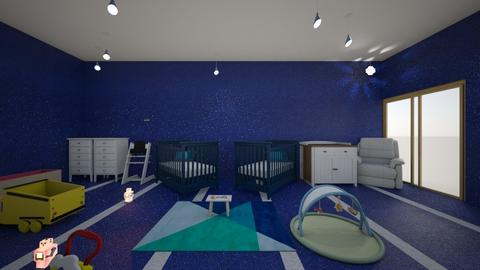 baby boy room - Kids room  - by peyton twins