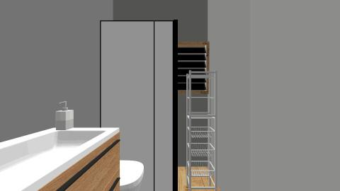 bathroom 1 - Minimal - Bathroom  - by danahaviv444
