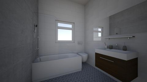 bathroom 1 - by ashsoophian