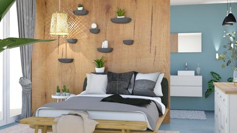 modern boho  - Modern - Bedroom  - by Norbosa