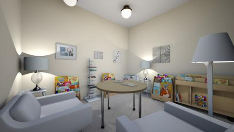 Reading nook - Kids room  - by FoxEsterman