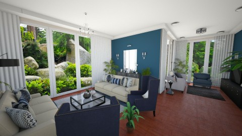 New Living Room View 5 - Minimal - Living room  - by Ejad Shukri