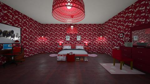 VDAY Room_1 - Feminine - Bedroom  - by srmagi