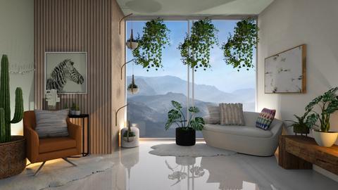 Skyler - Living room  - by Meghan White