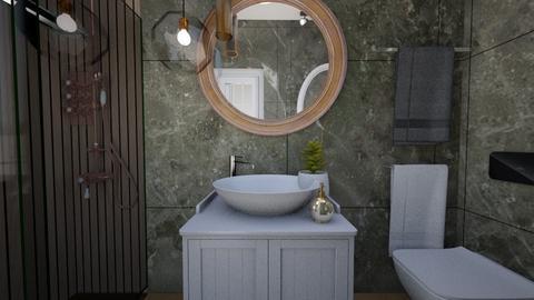 Cologno M bathroom 1a - Bathroom - by natanibelung