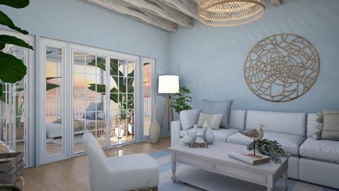 Beach_ B R E E - Living room  - by light_of_grace