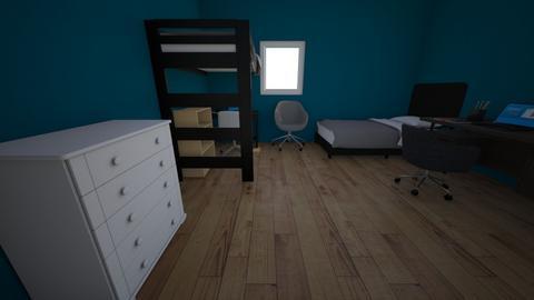 Joaco Mati - Bedroom  - by juli trimarchi