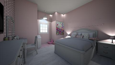 ZoeysDreamBigRoomVanity   - Modern - Kids room  - by jade1111