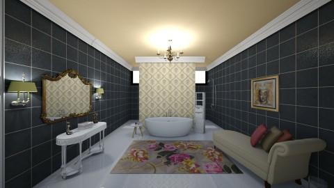 romantik  - Classic - Bathroom  - by nuray kalkan