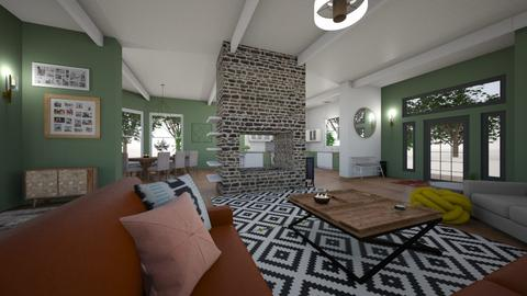 communal house - Country - Living room  - by kay91designs