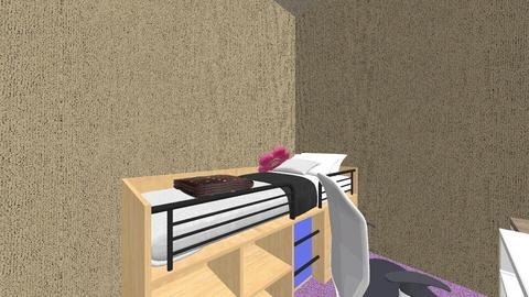90s Dream Dorm - Retro - Bedroom  - by Jimby