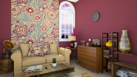 Tropic Holiday - Classic - Living room  - by anniecleetus