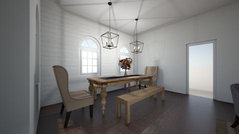 Dining room - Country - Dining room  - by anniekohl