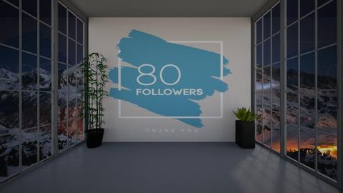Thanks For 80 Followers - by Tanem Kutlu
