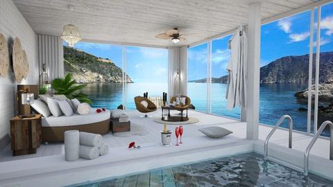 island room - Rustic - Bedroom  - by soralobo