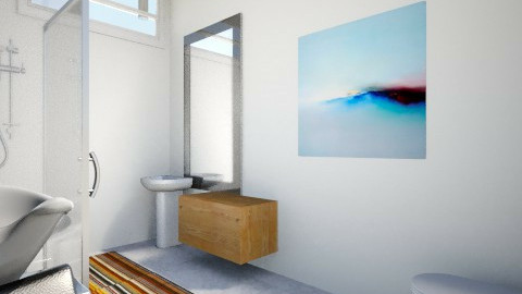 bathroom - by Diego Ceniceros